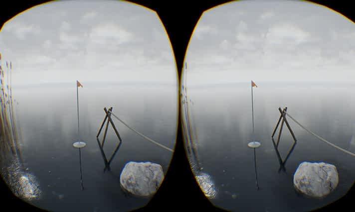 Lennusadama Merepääste näituse atraktsioon – VR simulatsioon jääl kõndimine erinevatel aastaaegadel (režii)