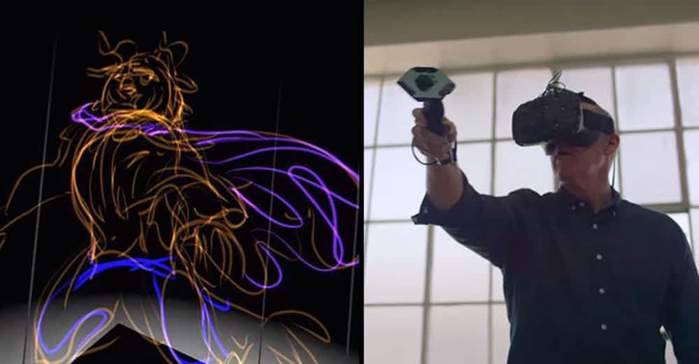 VR kunstis