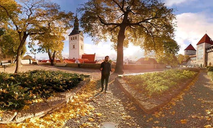 Interaktiivne VR tuur Tallinna vanalinnas koos giidiga