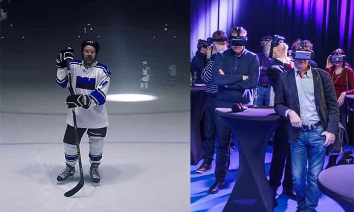 Elisa Eesti announces news in VR