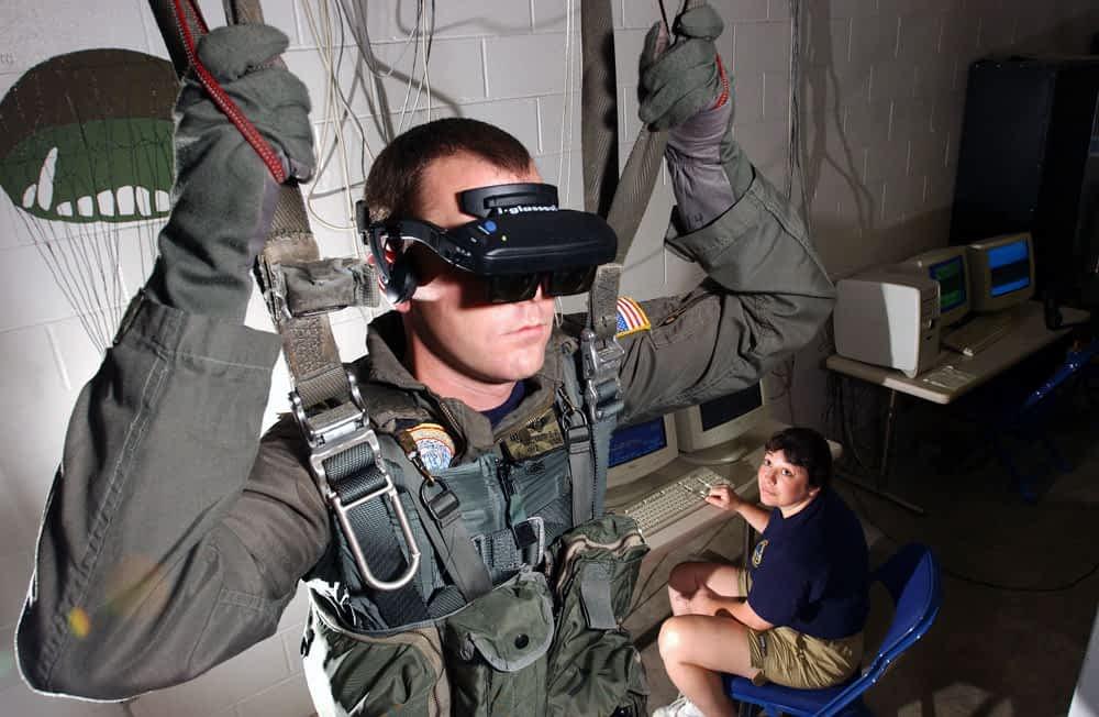 VR sõjaväes