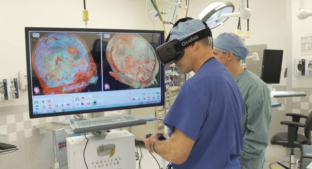VR meditsiinis